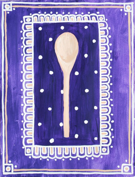 wooden spoon patterned 72