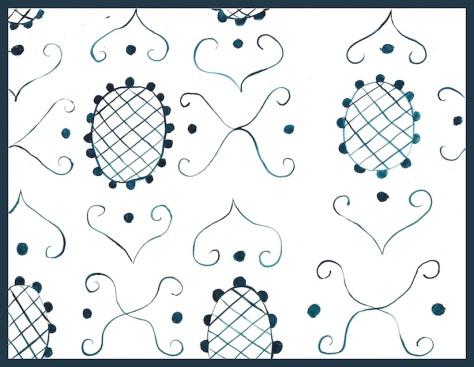 tambourine x pattern
